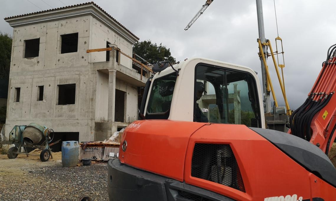 Construction de villa à Grasse
