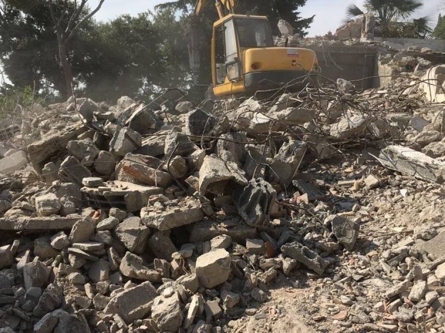 Travaux de démolition totale à Cannes